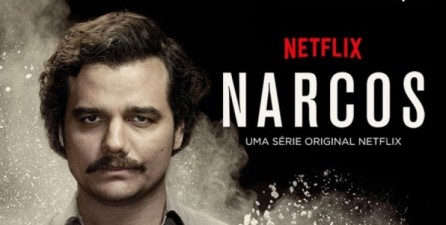 Cartel de la serie 'Narcos'